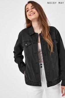 Noisy May Oversized Denim Jacket