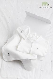 Molly & Monty Organic Grey Star Starter Pack Gift Set