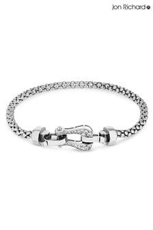 Jon Richard Cubic Zirconia Mesh Link Bracelet