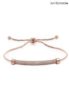 Jon Richard Pave Bar Toggle Bracelet