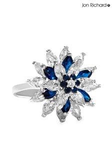 Jon Richard Cubic Zirconia Flower Ring