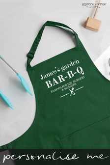 Personalised BBQ Apron by Jonny's Sister