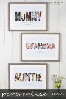 Personalised Mother Photo Print Frame by Jonny's Sister