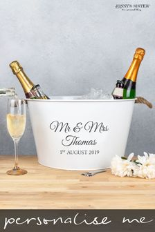 Personalised Wedding Wine Cooler by Jonny's Sister