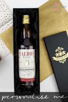 Personalised Father's Day Blended Whisky by Signature PG