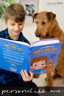 Personalised Me And My Pet Avatar Book by Signature Book Publishing