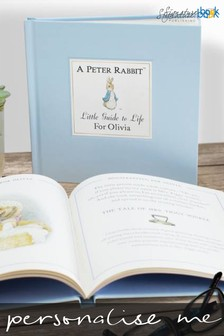 Personalised Peter Rabbit Little Guide To Life Book by Signature Book Publishing