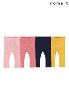 Name It Baby Ribbed Leggings Multi Pack