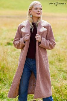 Love & Roses Teddy Coat