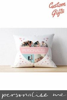 Personalised Photo Upload Cushion By Custom Gifts