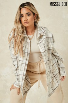 Missguided Oversized Check Shirt