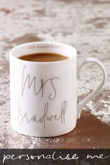 Personalised Est In 2020 Mrs Mug