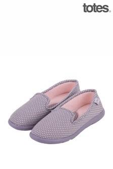 Totes Iso Flex Spot Full Back Slippers