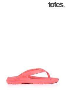 Totes Bounce Womens Toe Post Sandal