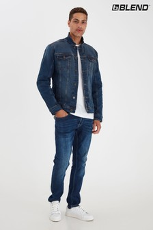 Blend Stretch Denim Jacket