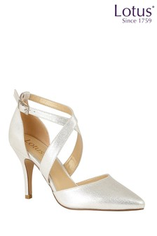 Lotus Footwear Ankle Strap Court Shoes