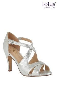 Lotus Footwear Ankle Strap Open Toe Shoes