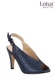 Lotus Footwear SlingBack PeepToe Shoes