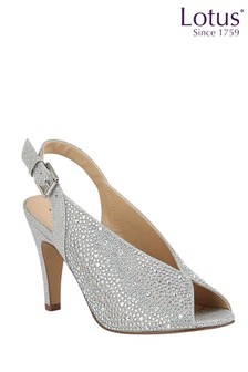 Lotus Footwear SlingBack PeepToe Shoes