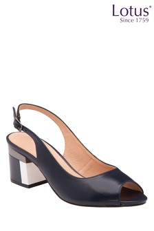 Lotus Footwear Sling Back Peep Toe Shoes