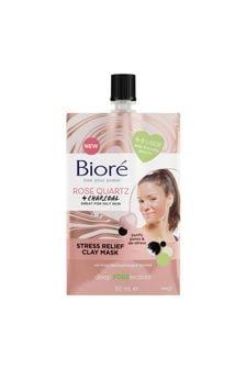 Biore Rose Quartz Stress Relief Clay Mask 50ml