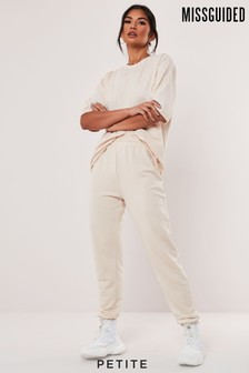 Missguided Petite Tshirt Jogger Coord Set
