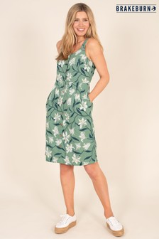 Brakeburn Button Front Dress