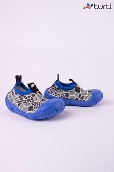 Turtl Eco-friendly Slip Resistant Swim Shoes with Turtle shell print
