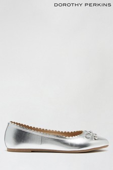 Dorothy Perkins Wide Peace Scallop Ballerina