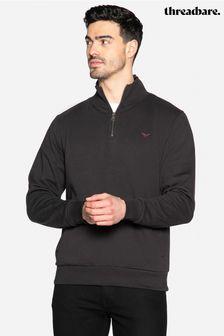 Threadbare Patrick Zip Neck Sweatshirt