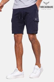 Threadbare Hunter Fleece Cargo Shorts