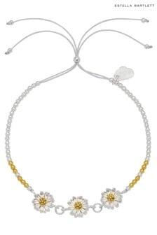 Estella Bartlett Daisy Chain  Bead Slider Bracelet