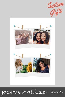 Personalised Photo Upload Blanket by Custom Gifts