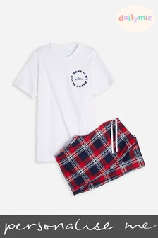 Personalised Mens Family PJ's By Dolly Mix