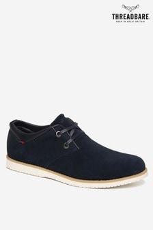 Threadbare Silas Derby Shoe Faux Suede
