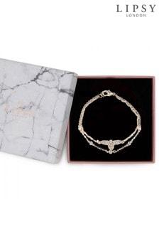 Lipsy Jewellery Two Pack Bee Bracelet