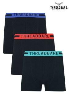 Threadbare 3 Pack Hipster Trunks
