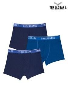 Threadbare 3 Pack Brayan Hipster Trunks