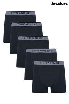 Threadbare 5 Pack Warden Hipster Trunks