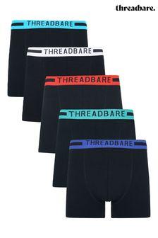 Threadbare 5 Pack Coven Hipster Trunks