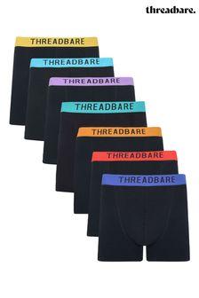 Threadbare 7 Pack Ivo Hipster Trunks