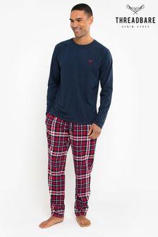 Threadbare Flint Cotton Pyjama Set