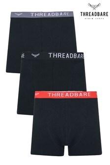 Threadbare 3 Pack Smart Hipster Trunks