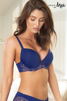 Pour Moi Forever Fiore Plunge Boost Push Up TShirt Bra