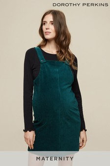 Dorothy Perkins Maternity Cord Pinafore Dress
