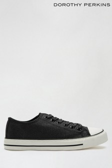 Dorothy Perkins Icon Shimmer Lace Up Trainer