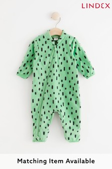 Lindex Baby Fleece Lined Pramsuit