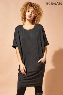 Roman Oversized Cocoon Dress