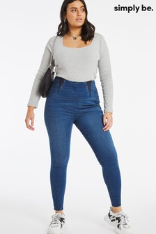 Simply Be High Waist Shaper Jeggings