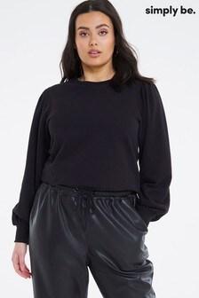 Simply Be Puff Sleeve Sweatshirt
